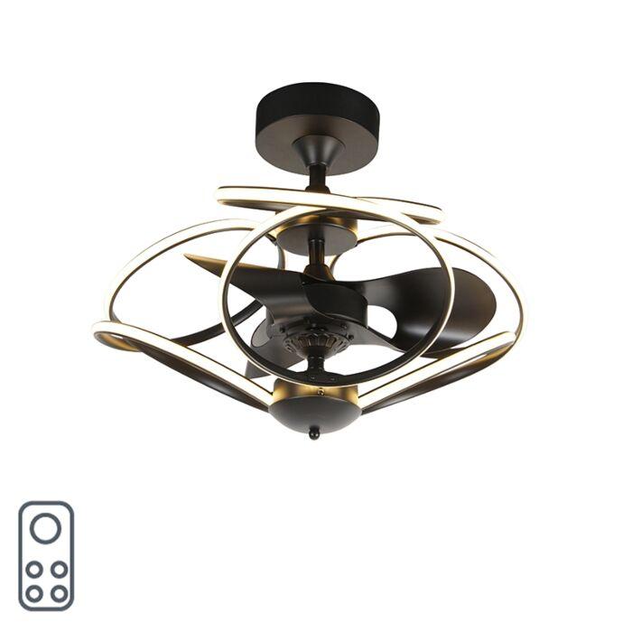 Ventilatore-da-soffitto-nero-con-telecomando-LED---KAUV-
