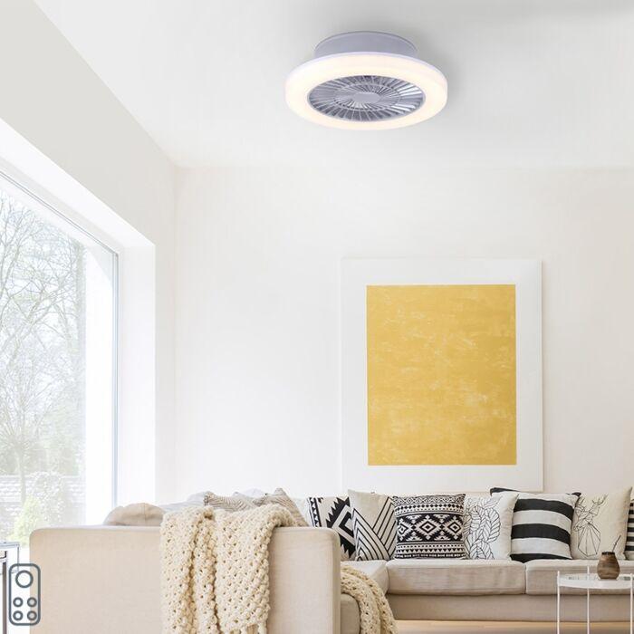 Ventilatore-da-soffitto-grigio-LED---MAKI