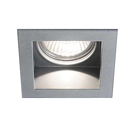 Faretto-da-incasso-'Carree-RS50-S1'-moderno-alluminio---adatto-per-LED-/-interno,-bagno