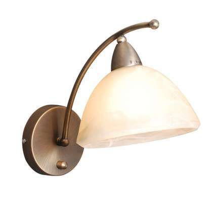 Applique-con-regolatore-'firenze'-classico-bronzo---adatto-per-LED-/-interno