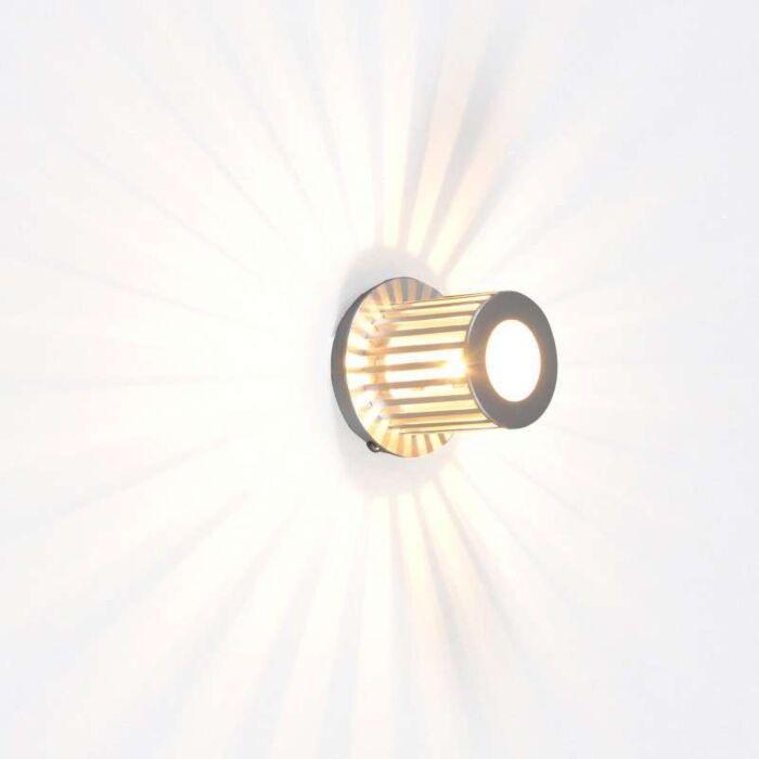 Applique-'Ribb'-moderno-alluminio---adatto-per-LED-/-interno