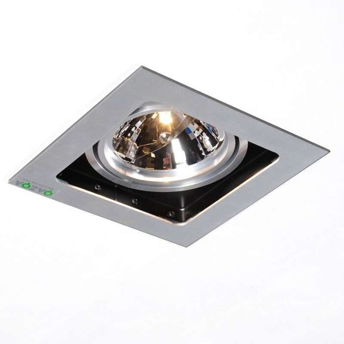 Faretto-da-incasso-'Qure-1'-design-alluminio---adatto-per-LED-/-interno