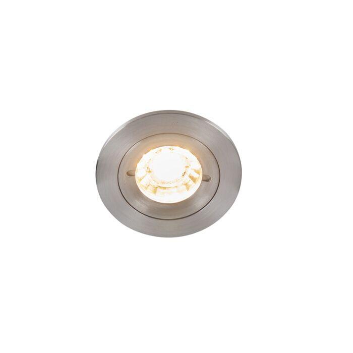 Faretto-da-incasso-moderno-alluminio-IP44---XENA-Round