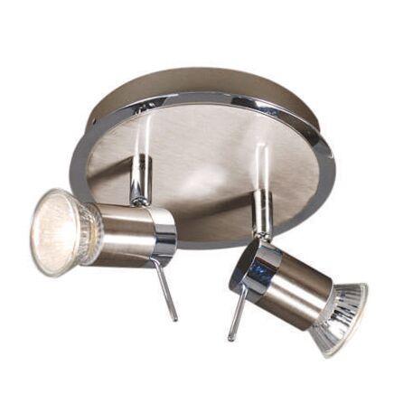 Faretto-'Detrem-2'-moderno-acciaio---adatto-per-LED-/-interno,-bagno