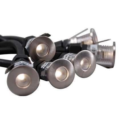 Faretto-da-incasso-'Luton-6'-moderno-acciaio---include-LED-/-esterno,-interno,-bagno