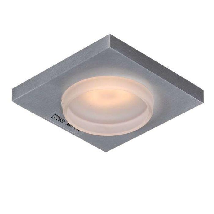 Faretto-da-incasso-'Spa-Q'-moderno-alluminio---adatto-per-LED-/-esterno,-interno,-bagno