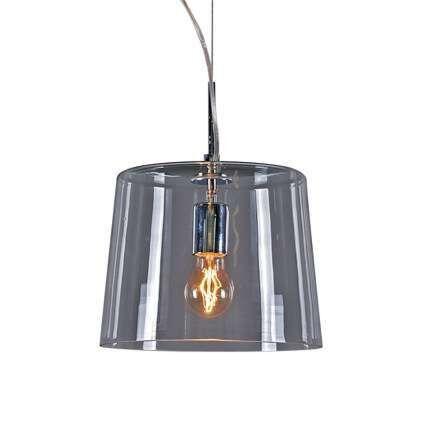 Lampada-a-sospensione-con-paralume-'Polar-1'-design-trasparente/vetro---adatta-per-LED-/-interna