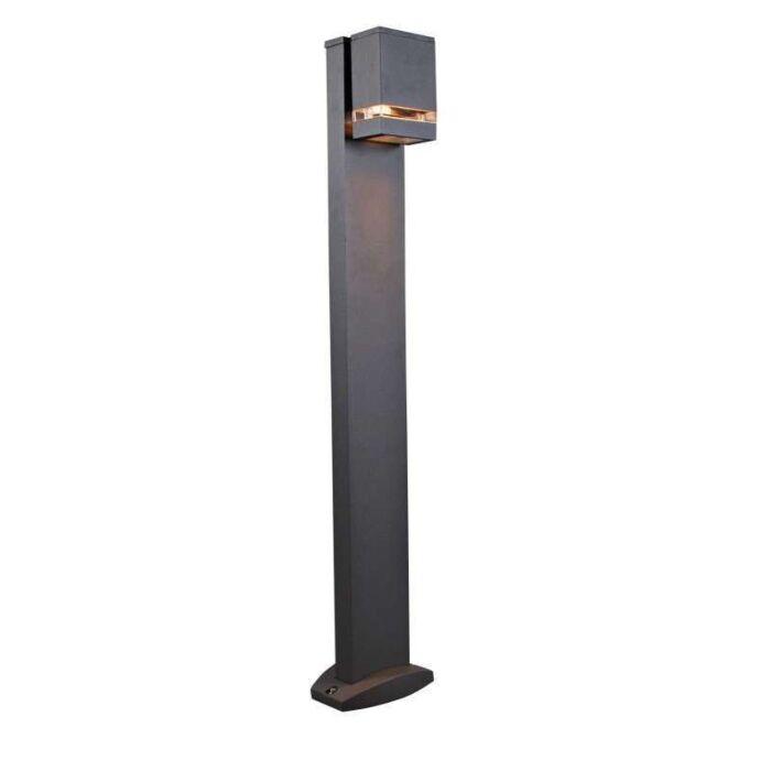 Palo-da-terrazza-'Montana-100'-design-carbone/alluminio---adatto-per-LED-/-esterno