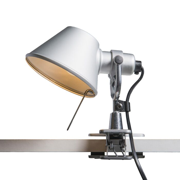 Lampada-da-tavolo-Artemide-orientabile---ARTEMIDE-Tolomeo-micro-pinza