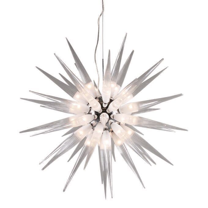 Lampada-a-sospensione-grande-'Sun-45'-design-trasparente/vetro---adatta-per-LED-/-interna