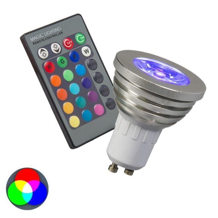 GU10-LED-3-Watt-200-Lumen-RGB-(aggiustabile)