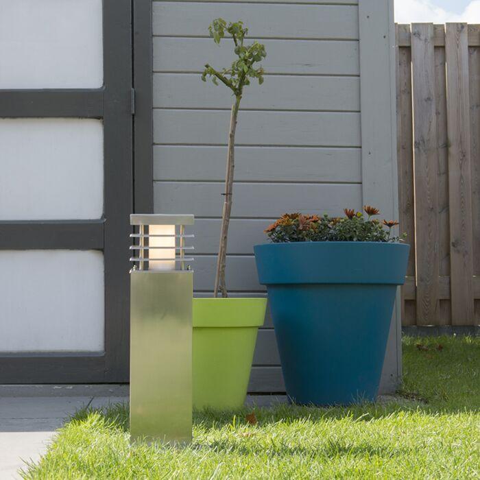 Palo-da-terrazza-'Norton-45'-moderno-acciaio-inossidabile---adatto-per-LED-/-esterno