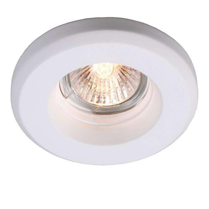 Faretto-da-incasso-'Gipsy-R-Smooth'-moderno-blanco/intonaco---adatto-per-LED-/-interno