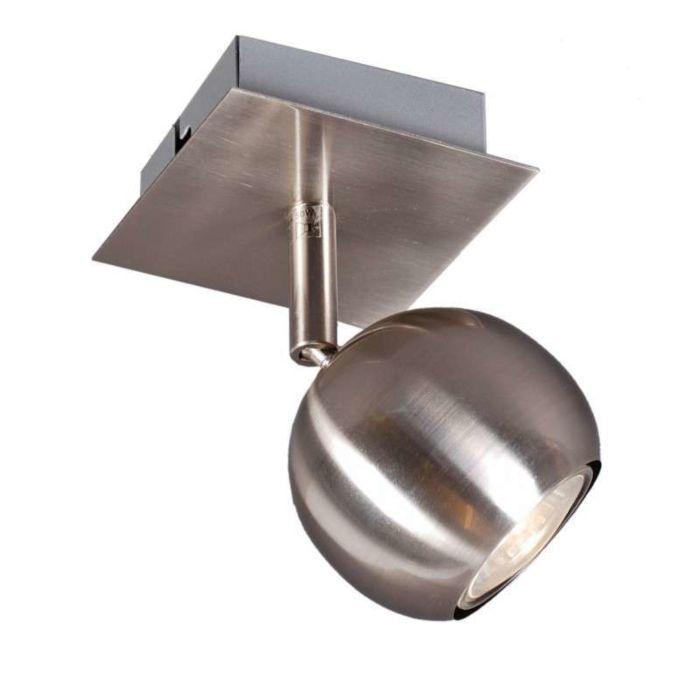 Faretto-'Gissi-1'-moderno-acciaio---adatto-per-LED-/-interno