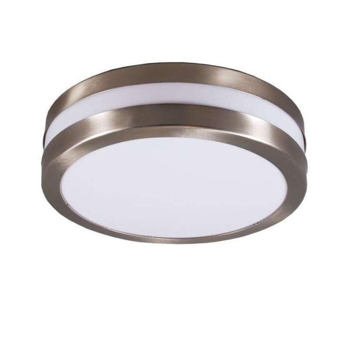 Faretto-/-Applique-acciaio-IP44---LEEDS
