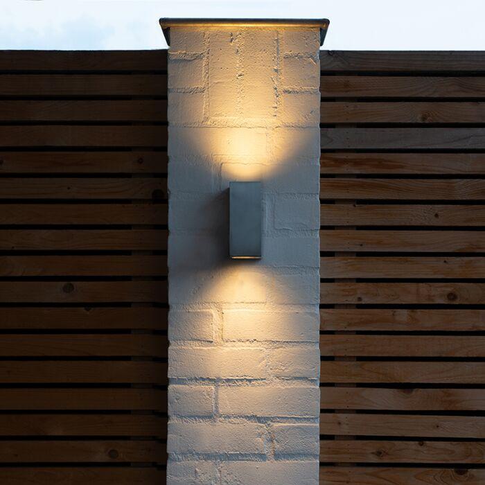 Lampada-da-parete-moderna-in-alluminio-IP44---Baleno-II