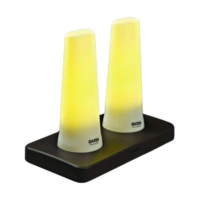 'LED-Tube'-moderno-giallo/plastica---include-LED-/-interno