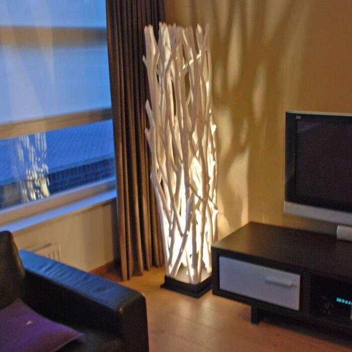 Lampada-da-terra-'Ubon'-design-blanca/legno---adatto-per-LED,-include-LED-/-interna