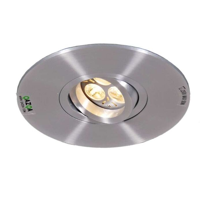 Faretto-da-incasso-grande-'Rondoo-1-XL'-moderno-acciaio---adatto-per-LED-/-interno
