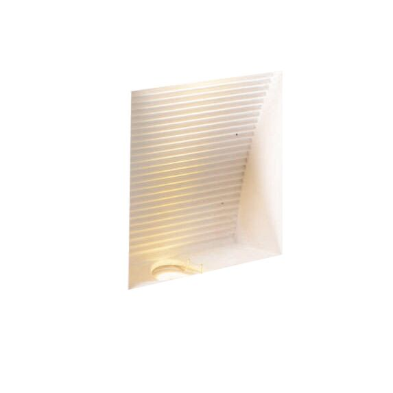 Applique-'Zero-Q'-moderno-blanco/intonaco---include-LED-/-interno