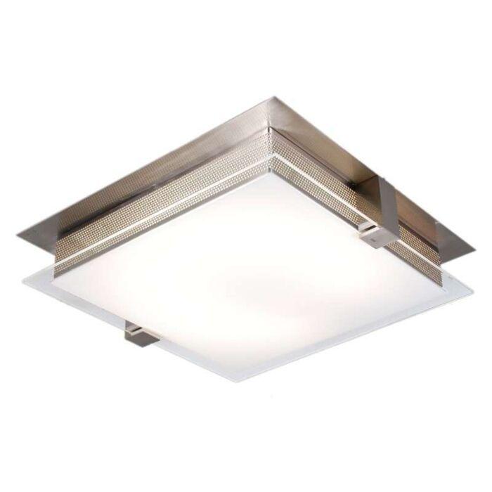 Plafoniera-'Edson-36'-moderna-acciaio---adatta-per-LED-/-interna