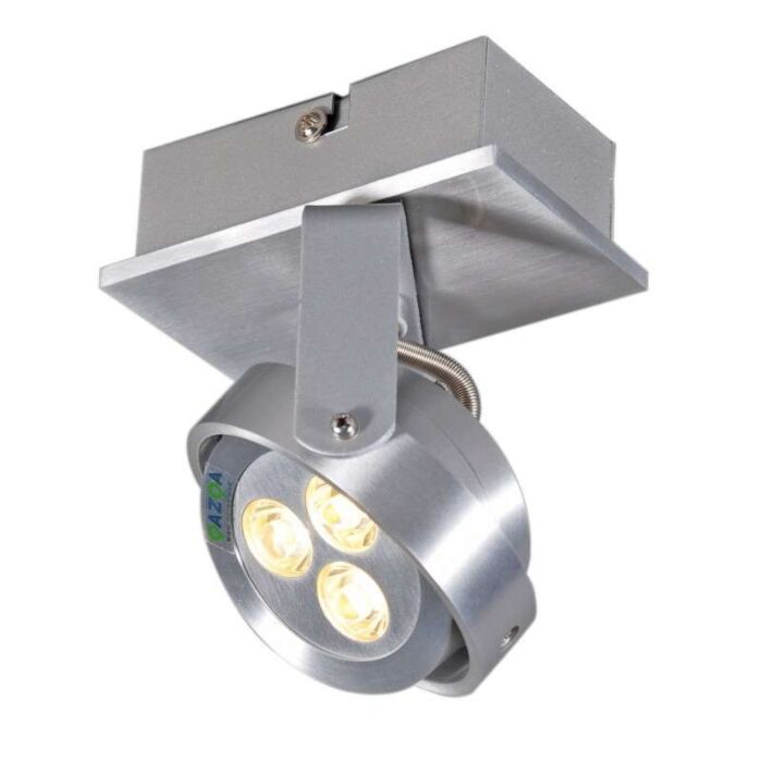 Faretto-'Keoni-1'-moderno-alluminio---include-LED-/-interno