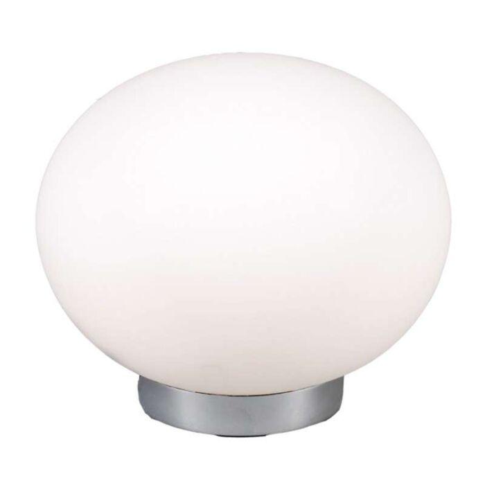 Lampada-da-tavolo-'Ball-24'-moderna-blanca/vetro---adatta-per-LED-/-interna
