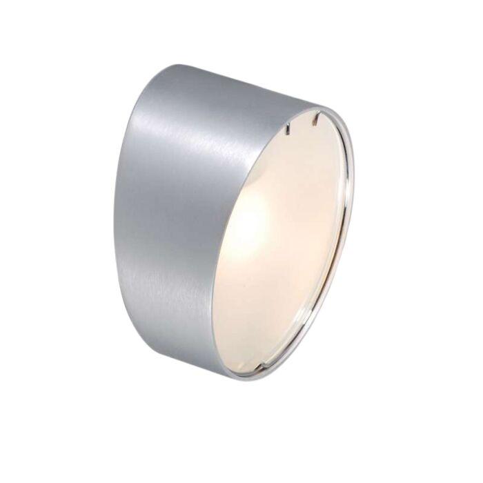 Applique-'Phone-R'-moderno-alluminio---adatto-per-LED-/-interno