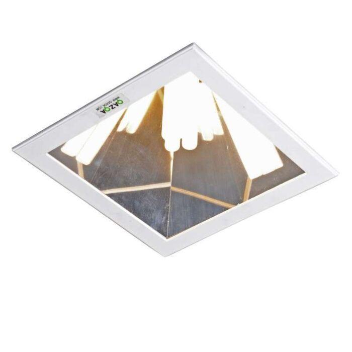 Faretto-da-incasso-grande-'Ultra-PL-C'-design-blanco/metallo---adatto-per-LED-/-interno