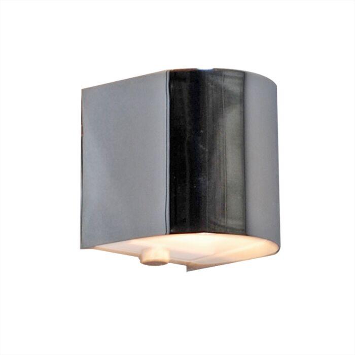 Applique-'Torci'-design-cromo---adatto-per-LED-/-interno