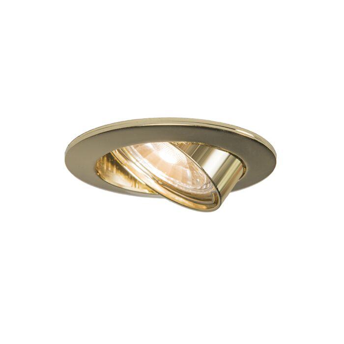 Faretto-ad-incasso-orientabile-oro---EDU