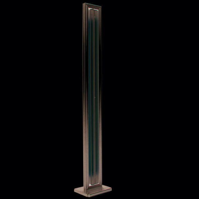 Lampada-da-terra-'Tube-S-2-x-35W'-design-alluminio---interna