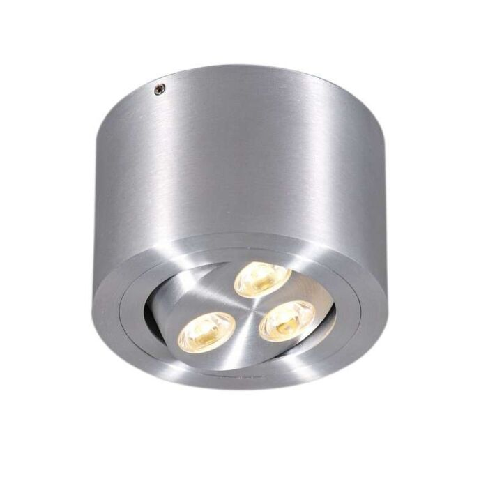 Faretto-'Keoni'-moderno-alluminio---include-LED-/-interno