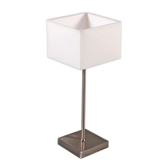 Lampada-da-tavolo-con-paralume-'VT-Small'-moderna-blanca/tessuto---adatta-per-LED-/-interna