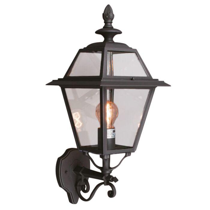Applique-'New-Hampshire'-rustico-grigio/alluminio---adatto-per-LED-/-esterno