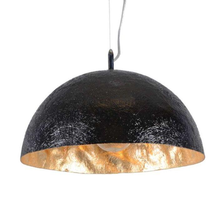 Lampada-a-sospensione-'Magna-40'-design-nera/plastica---adatta-per-LED-/-interna