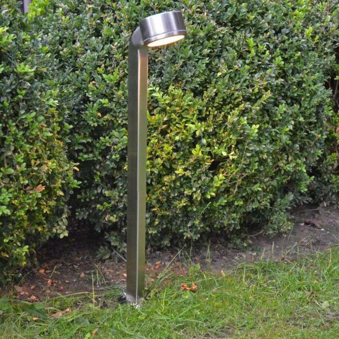 Palo-da-terrazza-'Snake-68'-moderno-acciaio---adatto-per-LED-/-esterno