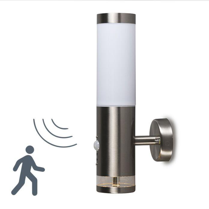 Applique-da-esterno-ROX-Lux-a-LED-e-sensore-infrarosso