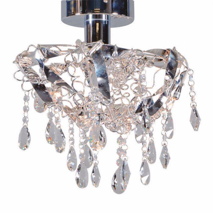 Plafoniera-'Duchesse-5'-moderna-trasparente/cristallo---adatta-per-LED-/-interna