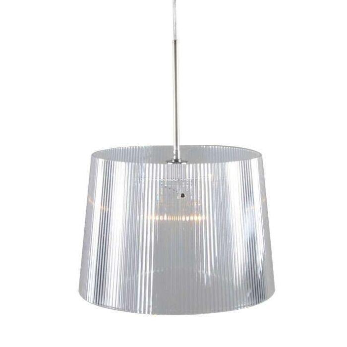 Lampada-a-sospensione-'Letrak'-moderna-trasparente/plastica---adatta-per-LED-/-interna