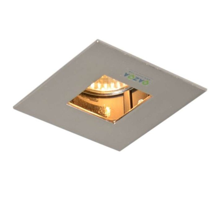 Faretto-da-incasso-'Diego-I'-moderno-acciaio---adatto-per-LED-/-interno