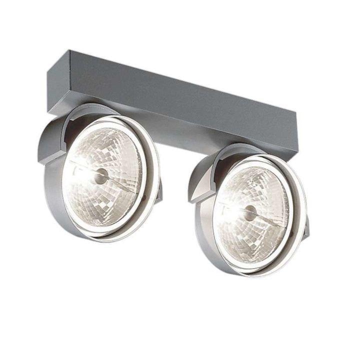 Faretto-'Rand-211-T50'-moderno-alluminio---adatto-per-LED-/-interno