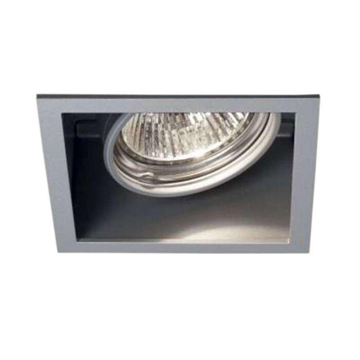 Faretto-da-incasso-'Carree-ST-OK-S1'-design-alluminio---adatto-per-LED-/-interno,-bagno