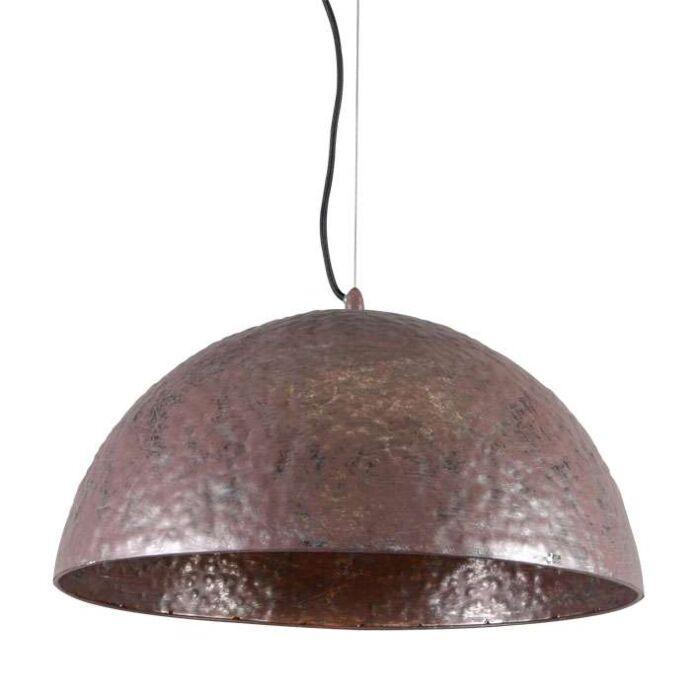 Lampada-a-sospensione-grande-'Martele'-rustica-marrone-ossido/metallo---adatta-per-LED-/-interna