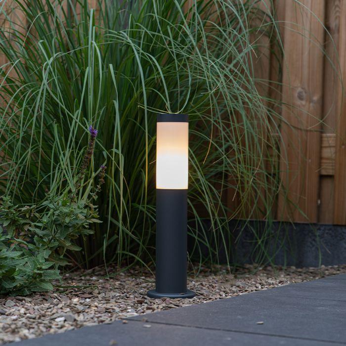 Lampione-da-esterno-antracite-45-cm-IP44---Rox