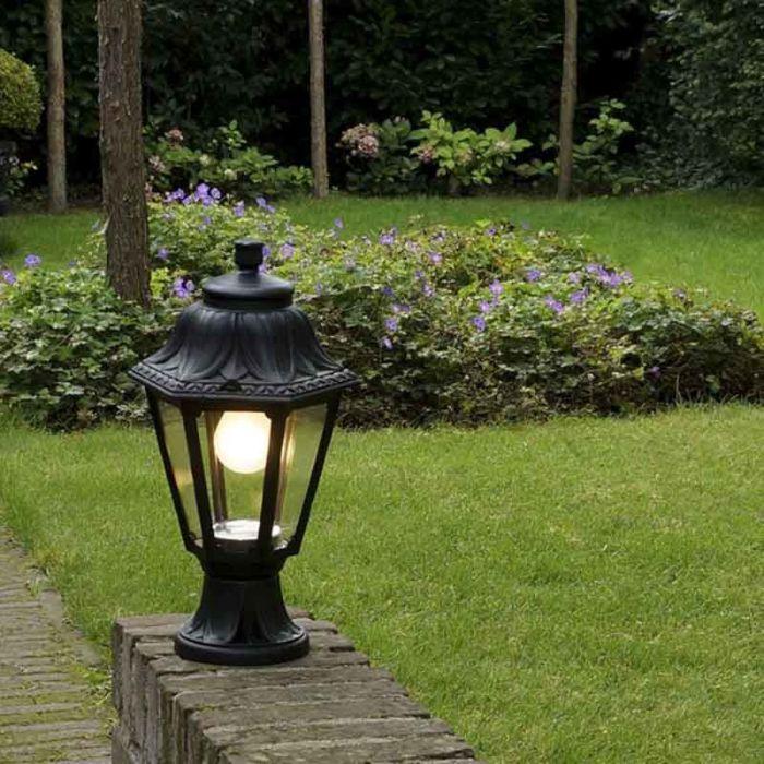 Base-per-lanterna-da-esterno-rurale-nera-IP44---Anna