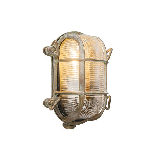 Applique-retro-marrone-18cm-IP44---NAUTICA-2-ovale