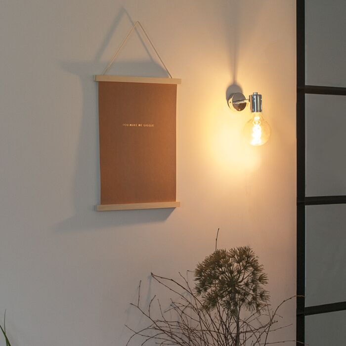 Lampada-da-parete-moderna-cromata---FACIL-1