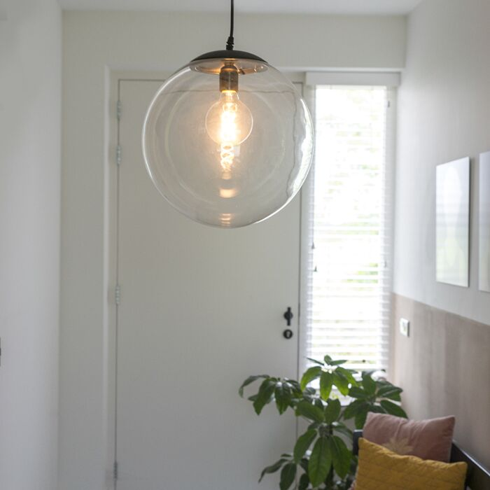 Lampada-a-sospensione-moderna-trasparente-35-cm---PALLON