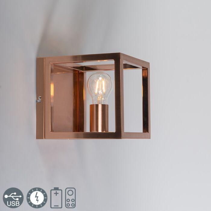 Lampada-da-parete-Cage-1-lampada-in-rame
